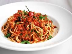 Szybkie spaghetti alla puttanesca