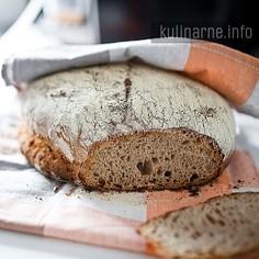 Chleb z miodem na zakwasie