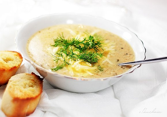 Zupa rybna puree