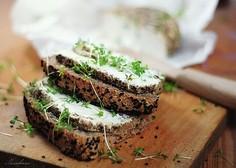 Chleb pszenny na drożdżach z czarnuszką