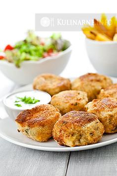 Kotlety ziemniaczane z kurczakiem
