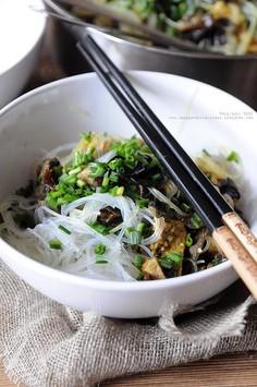 Stir-fry z polędwiczką wieprzową