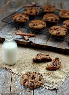 Ciasteczka czekoladowe z kawowym lukrem