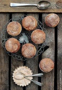 Muffinki dyniowo piernikowe z Nutellą