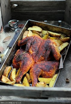 Kurczak w wędzonej papryce