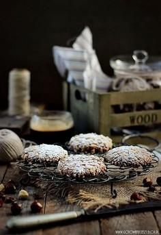 Ciasteczka z orzechami i Nutellą