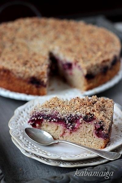 Ciasto żurawinowe