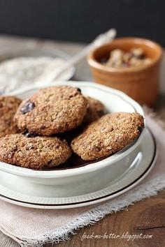 Otrębowe ciasteczka musli