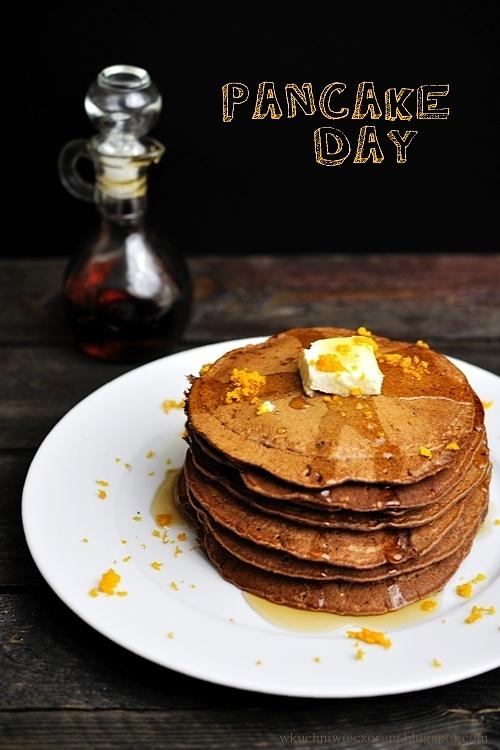 Kakaowe pancakes