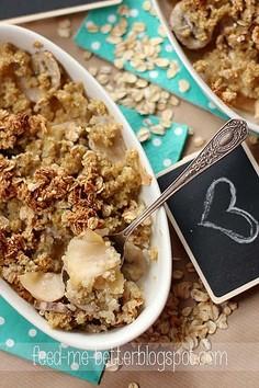 Dietetyczne crumble z quinoa