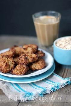 Dietetyczne ciasteczka - owsiane kokosanki