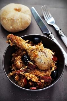 Kurczak po baskijsku