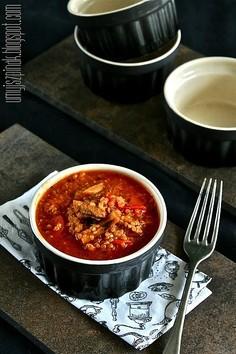 Jednogar z indykiem i quinoą