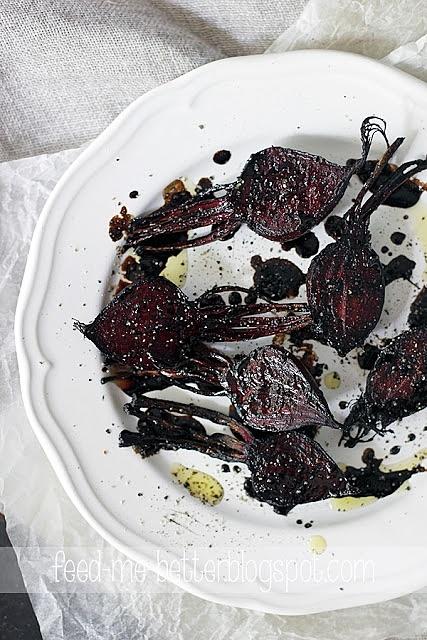Młode buraczki w sosie balsamico