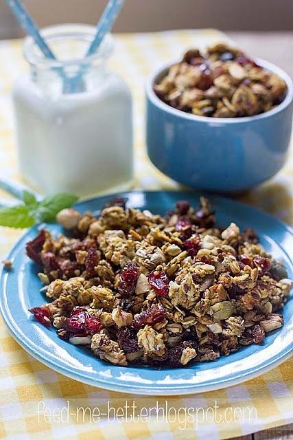 Dyniowa granola - domowe musli