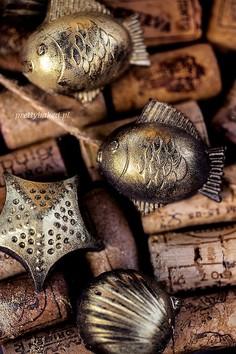 Morskie czekoladki z borówkami