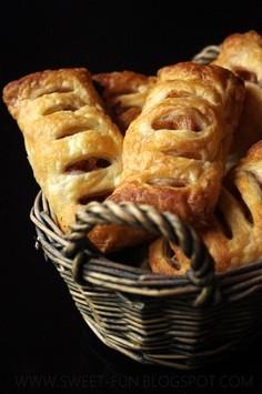 Francuskie ciastka gruszkowo-jabłkowe