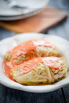 Gołąbki z włoskiej kapusty z ryżem