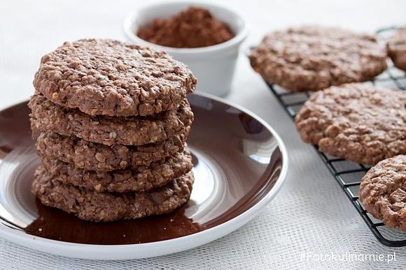 Ciasteczka owsiane czekoladowe