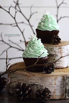 Cupcakes czekoladowo-miętowe