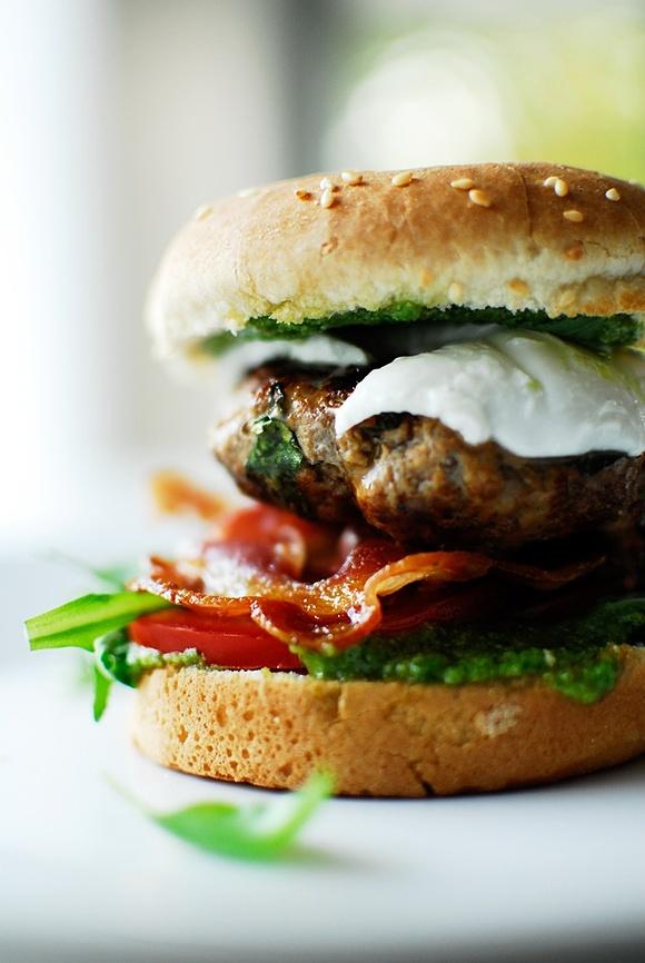 Hamburger w stylu włoskim