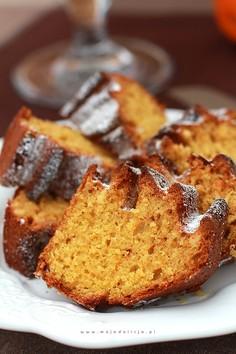Proste ciasto obłędnie pomarańczowe bez miksera