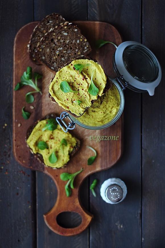 Fasolowy pasztet z curry
