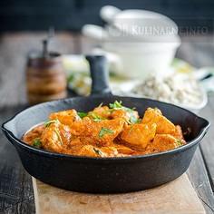 Kurczak na sposób indyjski
