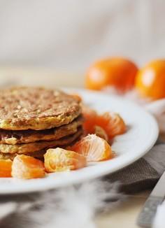 Słonecznikowo-migdałowe pancakes