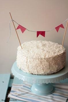 Tort kokosowy Princessa