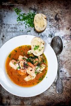 Bouillabaisse - francuska zupa rybna