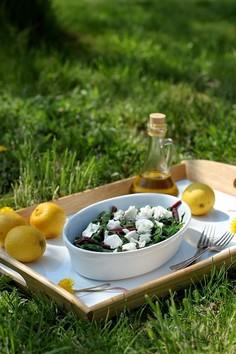 Horta vrasta - dzika zielenina z oliwą i cytryną