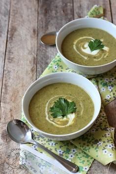 Francuska zupa szczawiowa