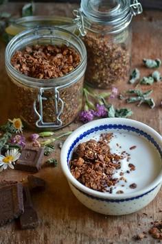 Granola czekoladowo-miętowa
