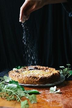 Pleśniak - kruche ciasto z letnimi owocami