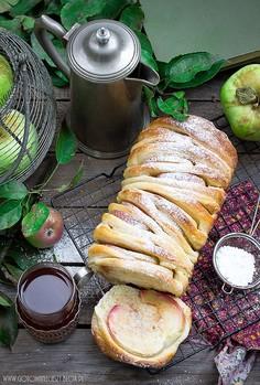 Jabłkowy chlebek odrywany