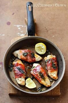 Cytrynowa saltimbocca z kurczaka