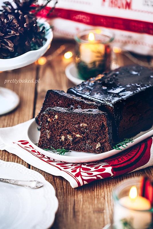 Świąteczny piernik - bez glutenu i bez cukru