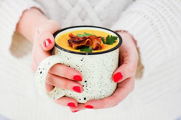 Zupa z zimowych warzyw