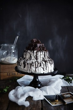 Tort z ptasim mleczkiem
