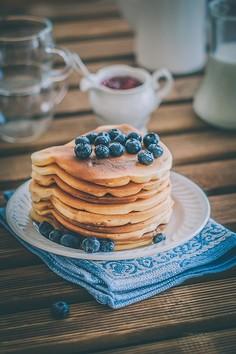 Najprostsze pancakes na mleku