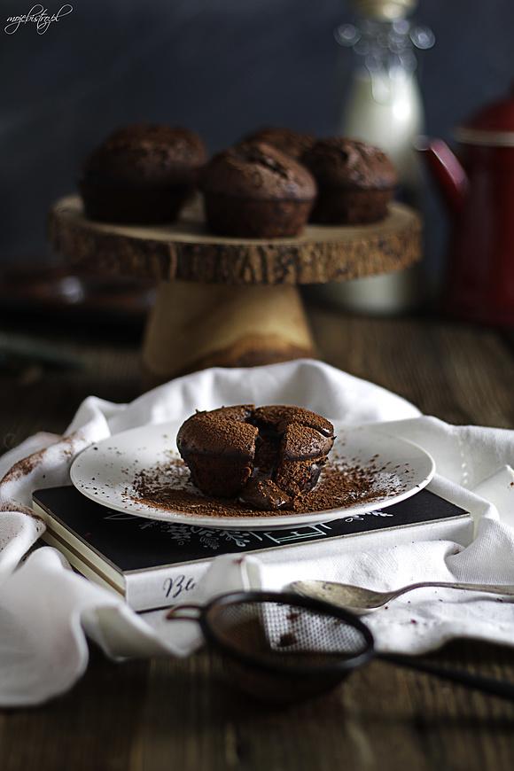Deser czekoladowa lawa