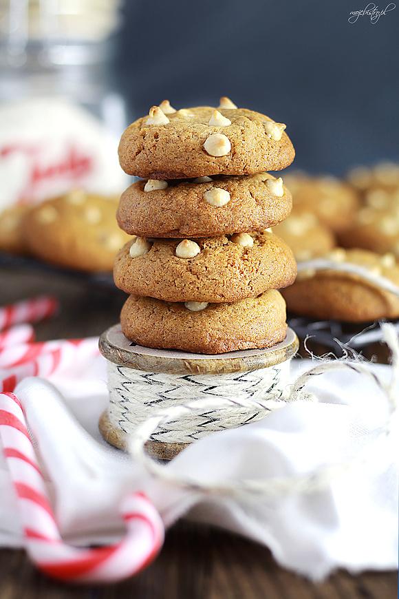 Pierniczki z białą czekoladą - super mięciutkie