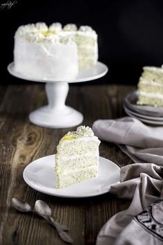 Ciasto makowe z miodowym kremem - Miodowy Piegus