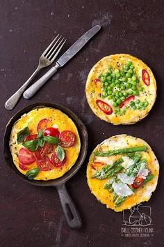 Szybka jednoosobowa frittata śniadaniowa