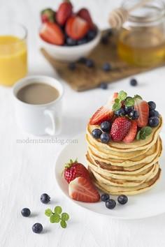 Klasyczne amerykańskie pancakes