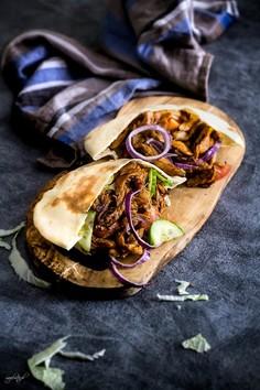 Domowy kebab w chlebku pita