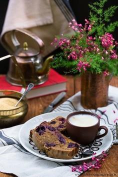 Ciasto kawowe z jeżynami