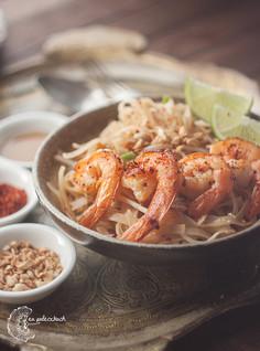 Pad thai z krewetkami