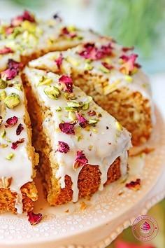 Perskie ciasto różane